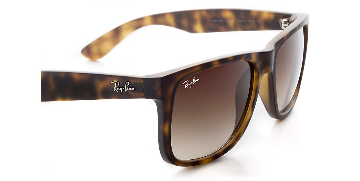 Ray Ban RB4165 710/13 55 Justin Sonnenbrille verglast a2YaIG